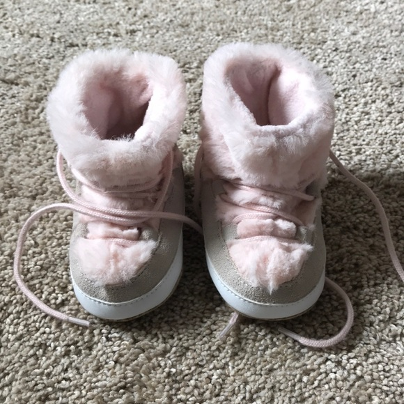 GAP Other - Baby Gap Fur Boots